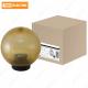 Светильник НТУ 02-100-304 шар золотой с огранкой d=300 мм TDM