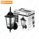 Светильник 6060-01Р садово-парковый шестигранник, 60 Вт, вверх, черный, в разборе, Ч/Б, TDM