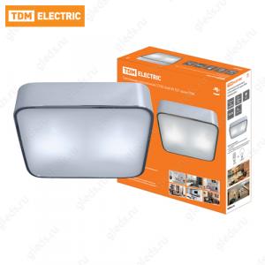 Светильник потолочный СП 06 2х60Вт E27 хром TDM