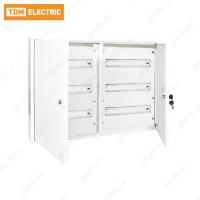 Корпус металлический ЩРН-72 (540х600х120) 2-х дверный TDM