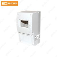 Щиток квартирный ЩК 26-003 2-6 модулей DIN без дверки IP20 TDM