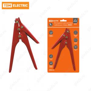 Инструмент для монтажа кабельных стяжек МХ01 TDM