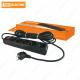 Сетевой фильтр СФ-05В выключатель, 5 гнезд, 1,5метра, с заземлением, ПВС 3х1мм2 16А/250В TDM
