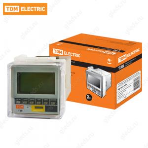Таймер электронный цокольный в крышку щитка ТЭ8-1мин/7дн-8on/off-16А-8Ц/Щ TDM