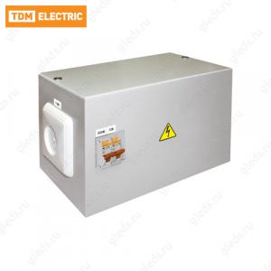 Ящик с трансформатором понижающим ЯТП-0,25 220/12-2авт. IP54 TDM